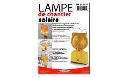 LAMPE DE CHANTIER SOLAIRE