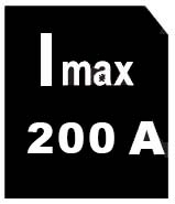 intensité max 200